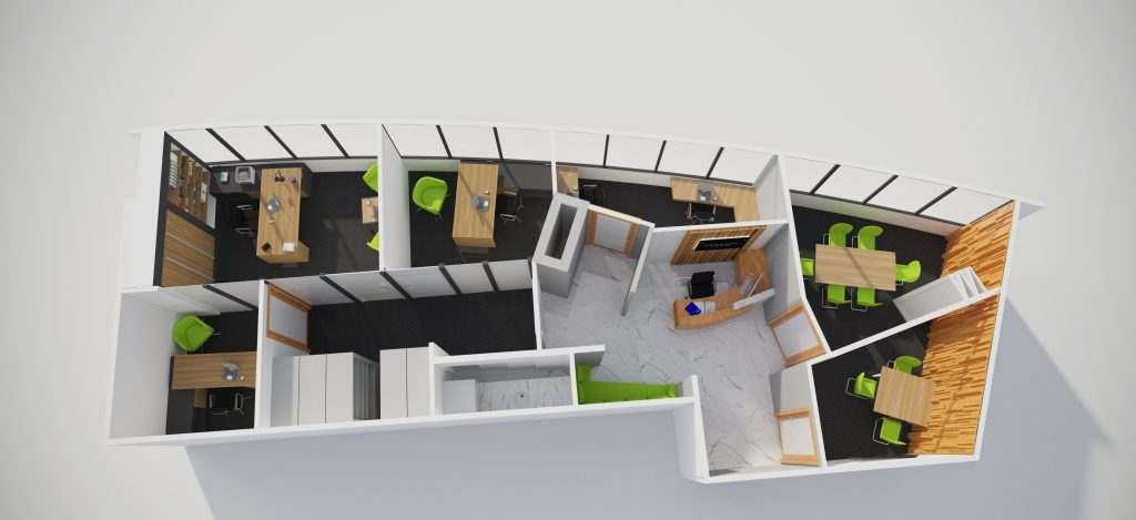 office fitout southport floor plan
