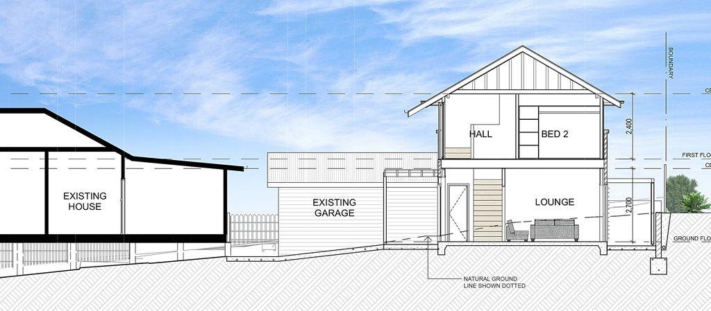secondary dwelling ashgrove option 1