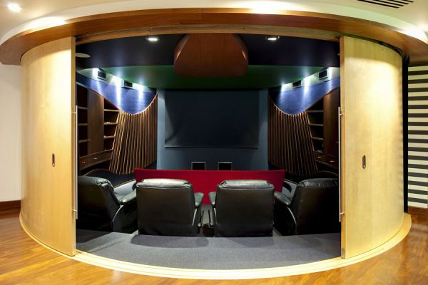 Home Theatre Design Tips Dion Seminara Architecture Brisbane