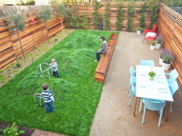 lawn to roll around on in a kid friendly backyard ideas
