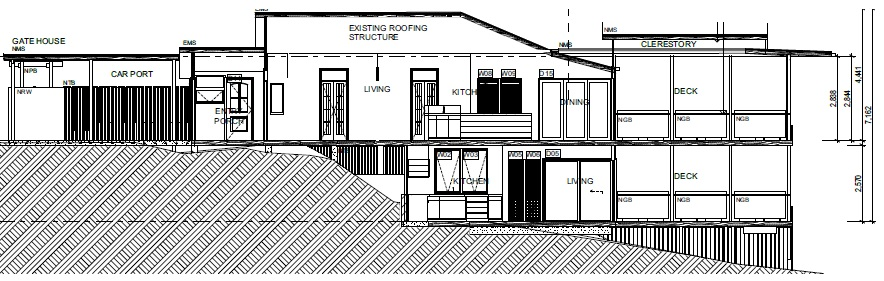 sloping block house designs