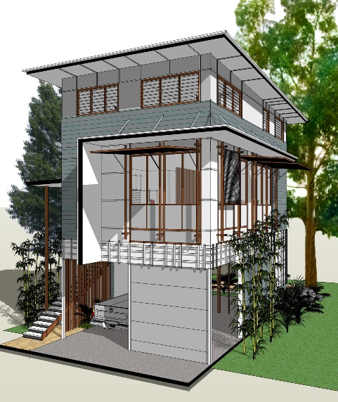 2013 Award Winning House Plans: Award Winning Flood-Prone House Design