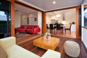 clayfield home renovation indoor outdoor room