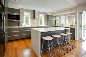 architects hawthorne kithcen island bench ideal kitchen position