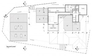 Image of poorly designed floor plan second level