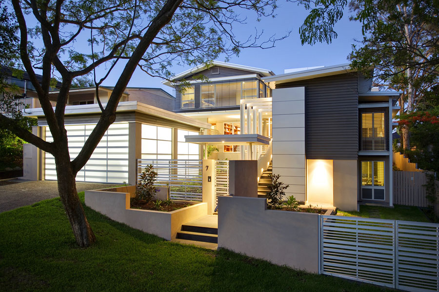 architects brisbane image of Indooroopilly post war home renovation