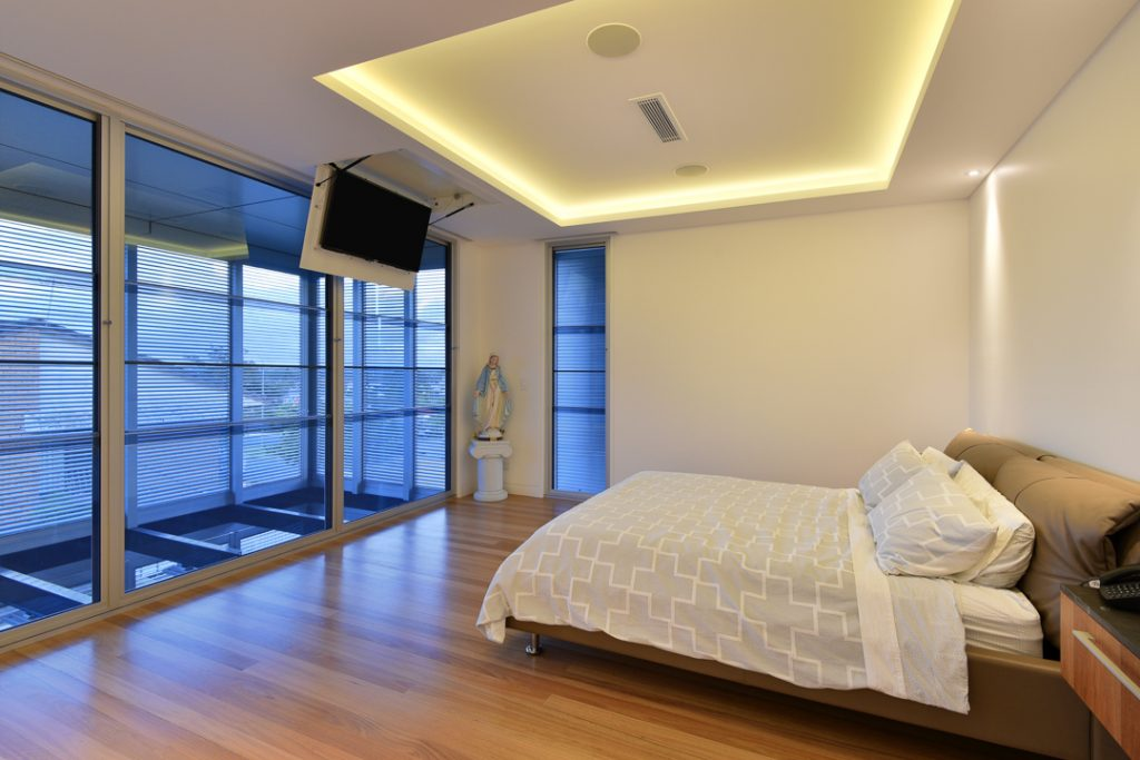 Image of Carina Heights luxury new home master bedroom