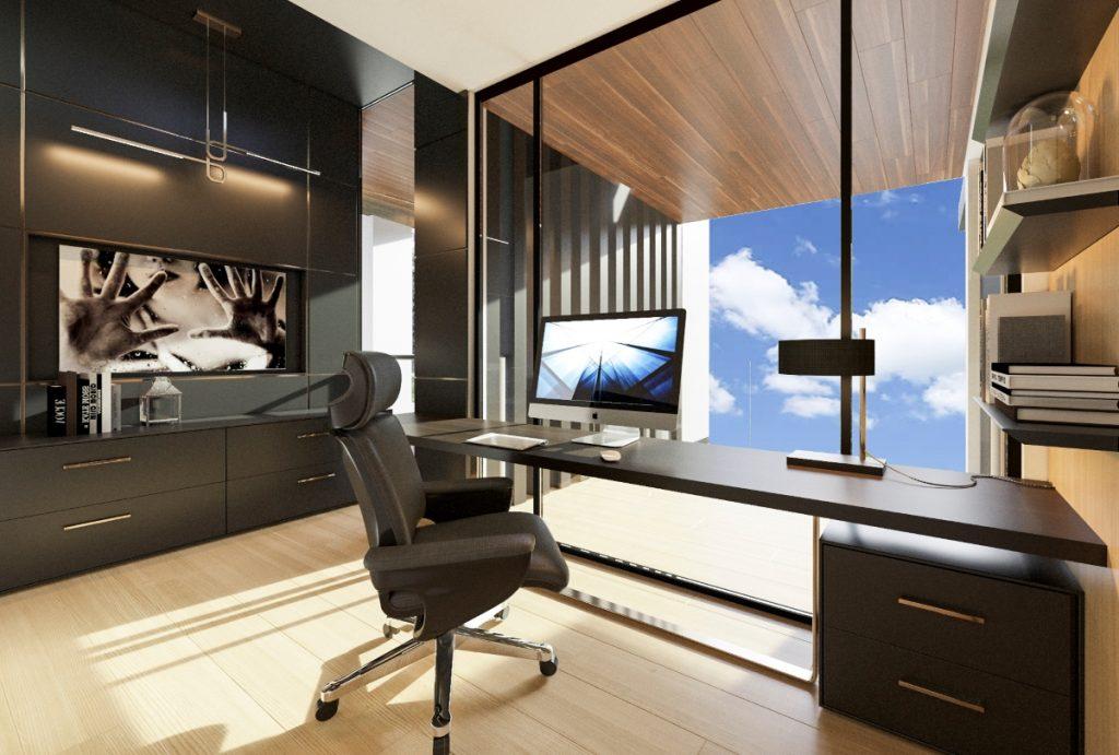 Image of Worongary luxury new home office