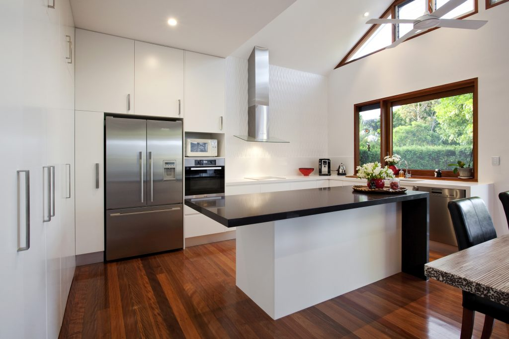 image of clayfield queeslander renovated bright kitchen area