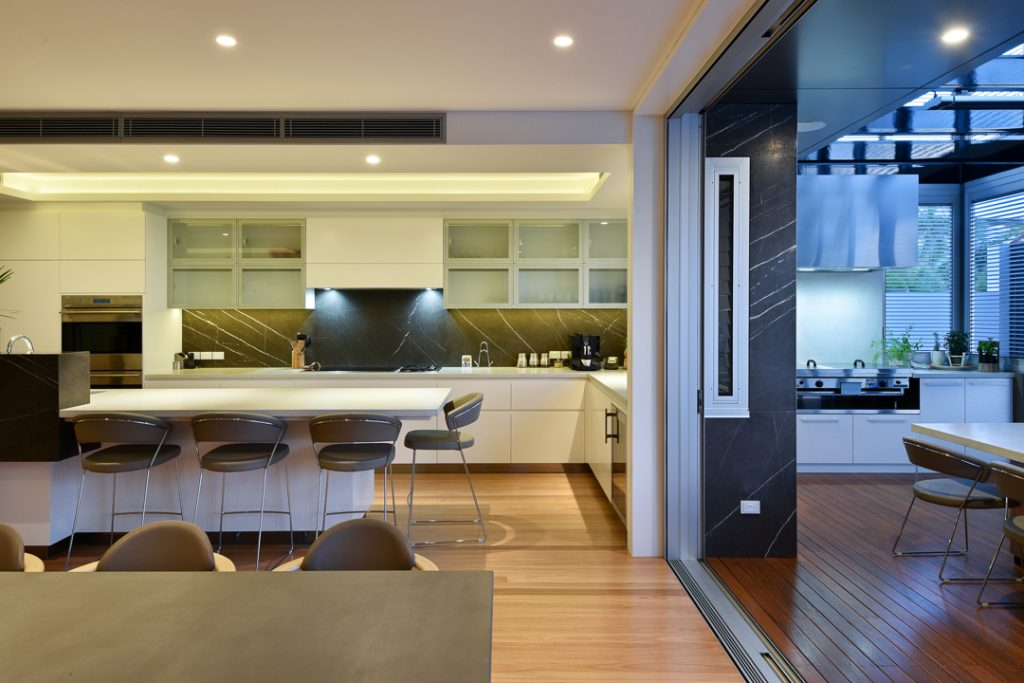image of carina heights new home interior design kitchen