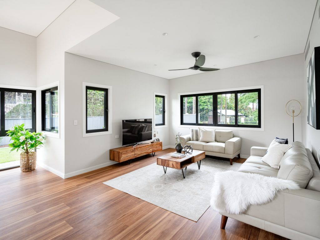 image of sustainable sherwood new home living room