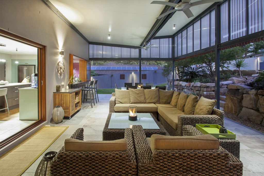 image of cashmere outdoor renovation entertainment area